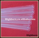 Tubo di vetro polacco fuso a cupola trasparente del quarzo del silicone