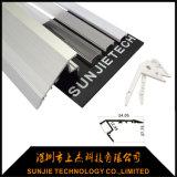 perfil claro de alumínio do diodo emissor de luz de 1.2m para a etapa da escada