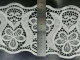 Neue Entwurfs-Großverkauf-Stickerei-Nylonspitze-Polyester-Stickerei-Zutat-Fantasie-Spitze für Kleid-Zusatzgerät und Hauptgewebe