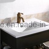Festes Holz-Karkasse-materielles Fabrik-Preis-Badezimmer-moderner Schrank (ACS1-W70)