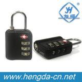 Cadeado do fechamento da bagagem da combinação de Yh1052 Tsa, porta de fechamento de Digitas