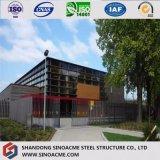 Almacén de múltiples funciones prefabricado de la fabricación de la estructura de acero del bajo costo