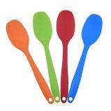 Cucchiai termoresistenti variopinti di Gread dell'alimento del silicone della cucina