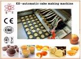 기계를 만드는 Kh 600 커스터드 케이크