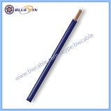 Les couleurs de fil électrique rouge brun G/Y Bleu Noir Cu/PVC Câble 450/750