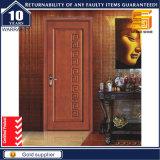El proyecto económico interior Dubai Hotel de madera maciza puerta de la pintura