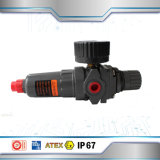 Regulador neumático del filtro de la presión del filtro de aire