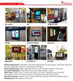 13.3/15.6/17/19/22/32/43/49/55/65 인치 대화식 Touchscreen 셀프서비스 간이 건축물