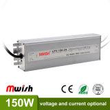 24V 150W Wechselstrom wasserdichten LED Aluminiumfahrer zum Gleichstrom-SMPS IP67