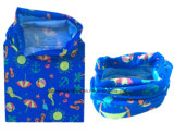 مصنع صنع وفقا لطلب الزّبون إنتاج علامة تجاريّة يطبع جديات [ميكروفيبر] بوليستر زرقاء عنق [تثبيس] مسخّن