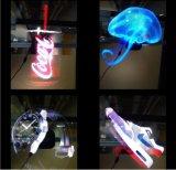 nuova LED 3D formazione immagine olografica di pubblicità del ventilatore 3D di 40cm