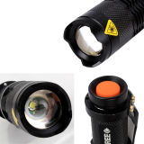 소형 3W High Power Zoom Aluminum LED Torch (POPPAS- X1)
