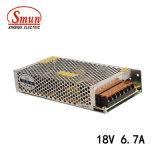 Smun S-120-18 6.7A 120W 18V CC Alimentation du commutateur