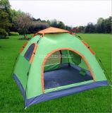 屋外の二重層3-4人雨堅いキャンプテント