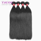 Tessuto diritto dei capelli umani di Remy del Virgin peruviano superiore di Yvonne