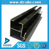 Profil en aluminium anodisé 6063 T5 d'extrusion d'enduit de bronze/poudre