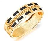 Nuevo patrón de diseño Color Joyas Plata Oro Pulsera Brazalete de apertura para mujeres regalos joyas Pulseras de acero inoxidable