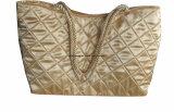 Women's Satin matelassé sacs fourre-tout de grande taille