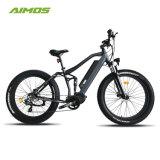 Volles Aufhebung-fettes Gummireifen-MITTLERES Laufwerk-elektrisches Fahrrad 1000W
