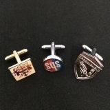 Silver Cuff Links con logotipo personalizado