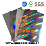 Papier d'emballage olographe imprimable personnalisé de modèle