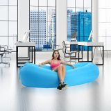 Inflables bolsas de aire rápido dormir cama sillón cama de aire Laybag perezoso Inflar la bolsa de aire salón sofá cama de aire inflables