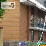 Revêtement extérieur de mur extérieur de l'installation facile WPC de Guangzhou