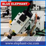 Jinan 새로운 다기능 경제 1325 모형 3D 목제 만드는 기계 회전하는 장치를 가진 큰 4개의 축선 CNC 대패