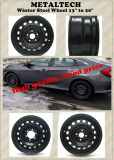 16x6.5 Toyota Camry зимой стальной колесный диск