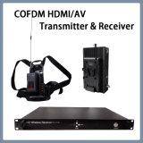 De de Draadloze Draagbare HD VideoZender en Ontvanger van Cofdm HDMI AV