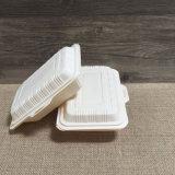 Wegwerfflugnahrungsmittelbehälter-umweltfreundliche Maisstärke-Mittagessen-Kästen