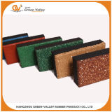 Открытый резиновые плитки резиновые Pavers на мостки парк ярда пола