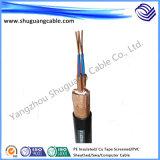 Baixos fumo/baixo halogênio/inteiramente Screened/PVC Insulated/PVC Sheathed/cabo do computador