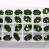 Glänzende Feuer-Kristalllose ovale Steinform-kostbare Kristallsteine