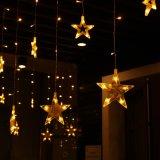 IP44 романтический звезд светодиодный занавес света для проведения свадеб/День Рождения/номера оформлены