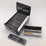 24 Sätze, die regelmäßiges Zigarettenpapier des König-Size Slim White mit Magnet-Dichtung rauchen