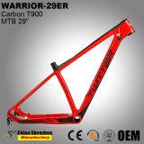 Fibra de carbono resistente bastidor bastidor de Mountain Bike bicicleta MTB 29er