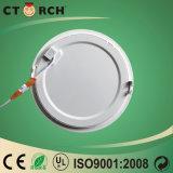 Metaal van de Ring van het Ontwerp van Ctorch het Nieuwe Plastic om het Licht van het Comité 3W-18W met Goedkope Prijs