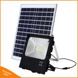 Flutlicht im Freienpfeiler Sonnenkollektor-Garten-Flut-Licht der Leistungs-50W LED