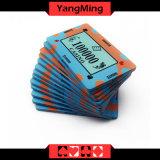 40g fertigen keramische Schürhaken-Quadrat-Chip-Kasino-Qualität kundenspezifisch an, die keramisches Kasino abbricht (YM-CP008)