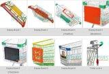 Voor Plastic Reclamebord voor Boodschappenwagentje