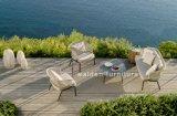 밧줄 길쌈 알루미늄 소파 가구 정원 로비 고정되는 옥외 가구