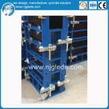 Système modulaire de coffrage de bâti en acier pour le béton