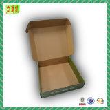 Casella ondulata pieghevole di imballaggio/trasporto di colore del bollettino con il marchio
