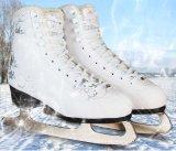 Sapatas do patim de gelo da alta qualidade para o adulto