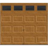 Наградная дверь гаража R-Значения серии изолированная Intellicore черная