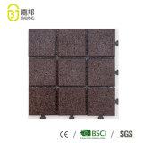 Manufatura de estática de bloqueio decorativa das telhas de assoalho das seleções do estilo da corte do esporte do baixo preço anti em China
