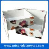 풀 컬러 종이상자 종이 선물 상자 주문 모자 상자
