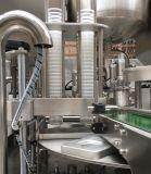 Plástico giratorio automático K taza taza de agua de gelatina de yogur el llenado de la máquina de sellado