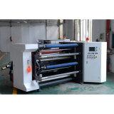 Etiqueta autoadhesiva de rebobinado automático de alta velocidad y la máquina de corte